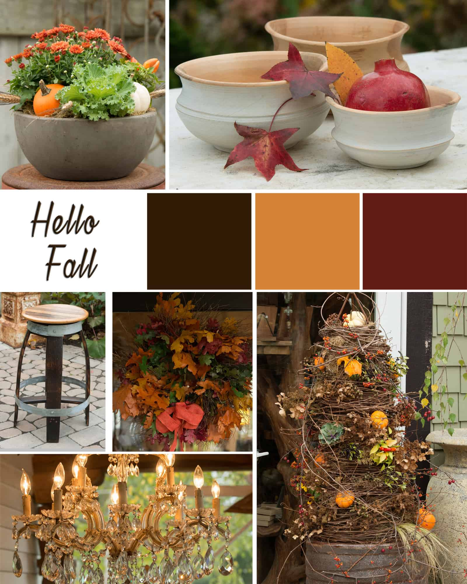 Fall Mood Board Calgo Gardens