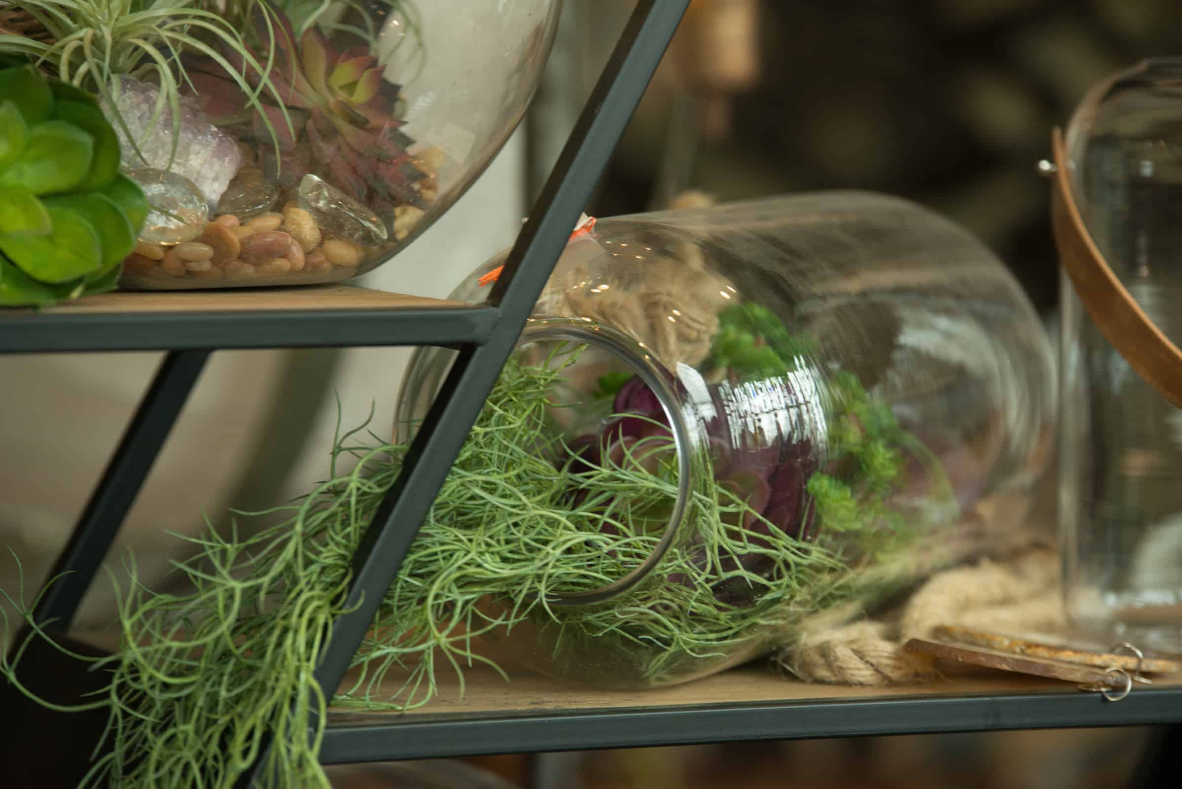 Make The Terrarium Your Own Style By Adding Decorative Accents