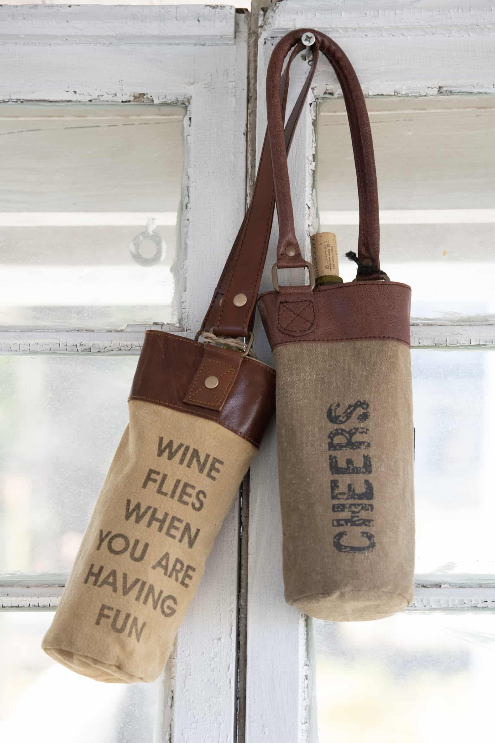recycled wine bag